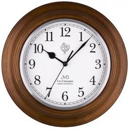 JVD Radiem řízené nástěnné hodiny